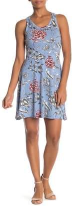 Angie Racerback Knit Skater Dress