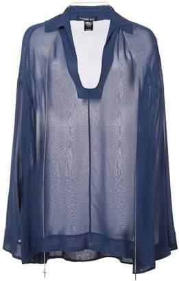 Thomas Wylde Refinement sheer blouse