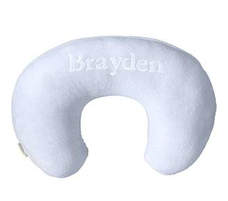 Pottery Barn Kids Solid Blue Boppy® Nursing & Infant Support Pillow Slipcover Only