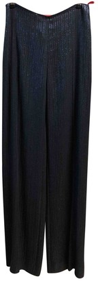 Christian Lacroix Black Trousers for Women