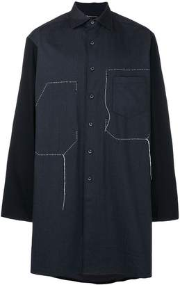 Y-3 long tunic shirt