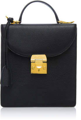 Mark Cross Small Uptown Pebbled Leather Bag