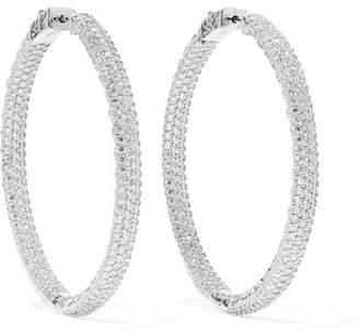 872810cbee42a Large Crystal Hoop Earrings - Best All Earring Photos Kamilmaciol.Com