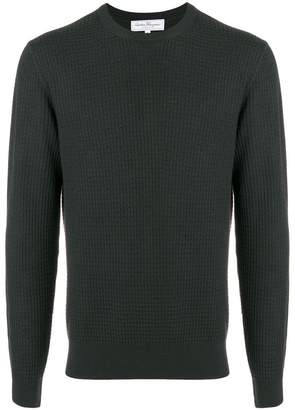Salvatore Ferragamo textured knit jumper