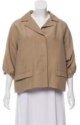 Giambattista Valli Silk Casual Jacket