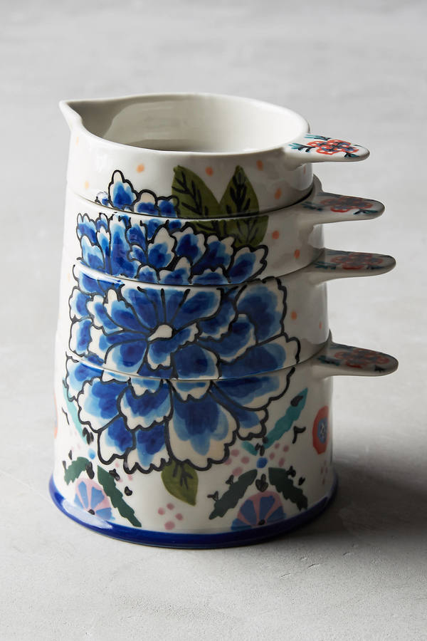 Anthropologie Delphina Stacked Measuring Cups