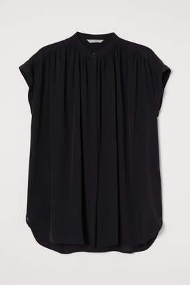 H&M Silk Tunic - Black
