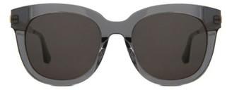 Women's Gentle Monster Cuba 55Mm Sunglasses - Clear Gray $255 thestylecure.com