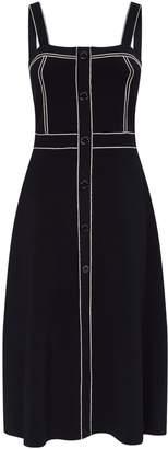 Sandro Contrast Trim Dress