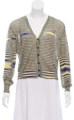 Missoni Striped Knit Cardigan