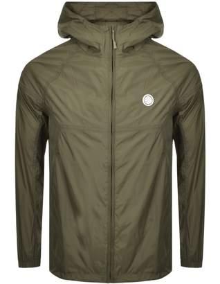 Pretty Green Lightweight Hooded Jacket Khaki