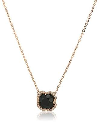 Effy Womens 14K Rose Gold Agate Necklace