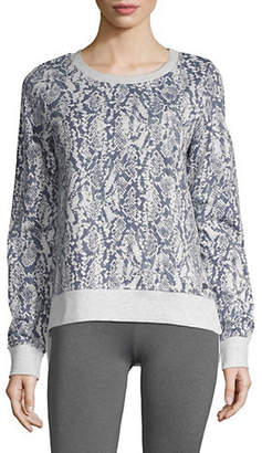 Andrew Marc PERFORMANCE Printed Pullover Sweater