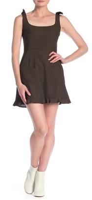 Dress Forum Bow Tie Strap A-Line Dress