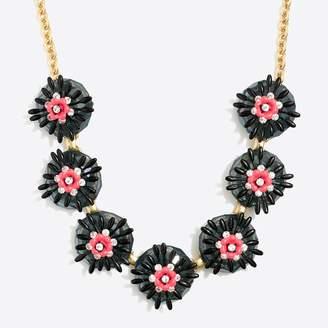 J.Crew Factory Sweet flower statement necklace