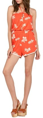 Women's Volcom Pine For Me Print Romper $45 thestylecure.com