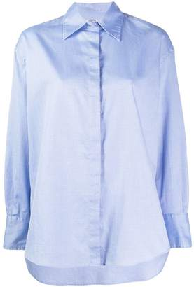 Barena oversized long-sleeved shirt