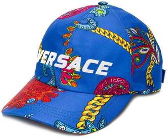 Versace Gioielleria Jetés print baseball hat