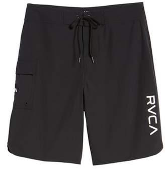 RVCA 'Eastern' Scalloped Hem Board Shorts