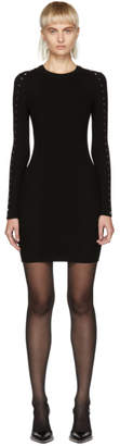 Alexander Wang Black Splittable Snap Dress
