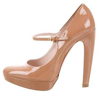 Miu Miu Patent Leather Mary Jane Pumps