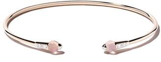 Pomellato 18kt rose gold moonstone & diamond bracelet