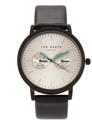 Ted Baker TE50291002 Black & Gold-Tone Watch