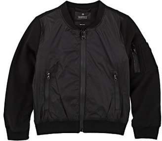 Barneys New York Kids' Tech-Fabric Bomber Jacket - Black