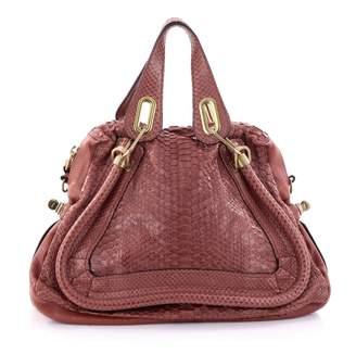 Chloé Python handbag