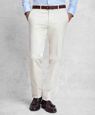 Brooks Brothers Golden Fleece Solid Twill Trousers