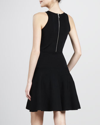 Milly Delilah Fit-and-Flare Dress