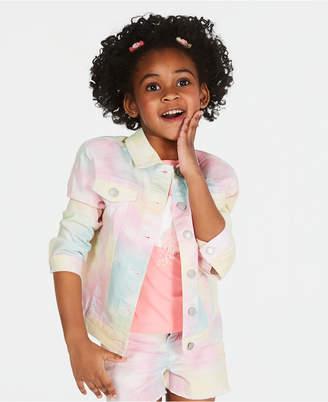 d78abfd72 Epic Threads Little Girls Tie Dyed Denim Jacket