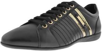 Versace Logo Trainers Black