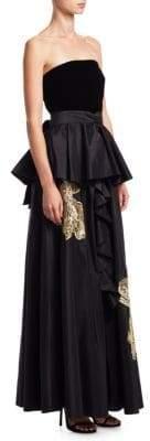 Sachin + Babi Correra Silk Gown