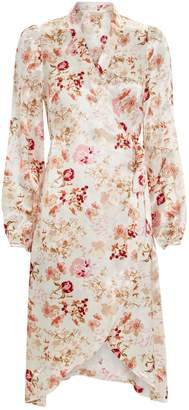 By Ti Mo Bytimo Floral Wrap Dress