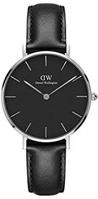 Daniel Wellington Classic Petite Sheffield in Black 32mm