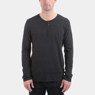ATM Anthony Thomas Melillo Cotton Jersey Space Dyed Henley