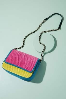 Becksöndergaard Colourblock-Corduroy Shoulder Bag