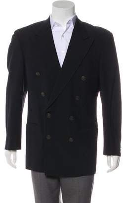Paul Smith Wool Double-Breasted Blazer