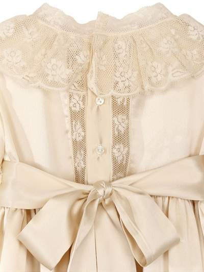 Made To Order Silk Christening Gown