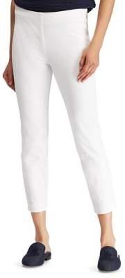Lauren Ralph Lauren Petite High-Rise Stretch Twill Skinny Cropped Pants