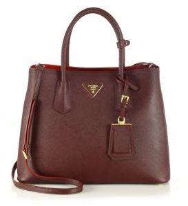 Prada Saffiano Cuir Medium Double Bag