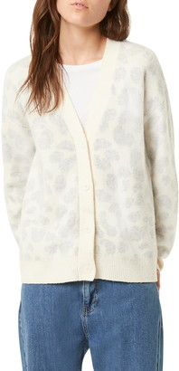 French Connection Leopard Cardigan