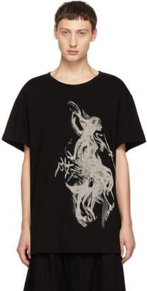 Yohji Yamamoto Black Woman T-Shirt