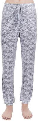 Asstd National Brand Lissome Drawstring Printed Self Cuff Jogger Pant