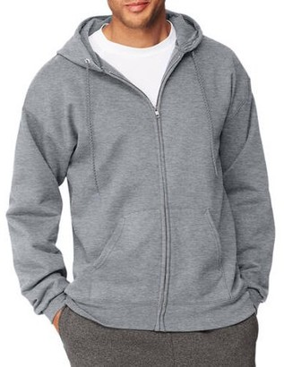 Hanes Big Men's Ultimate Heavyweight Fleece Full Zip Hood