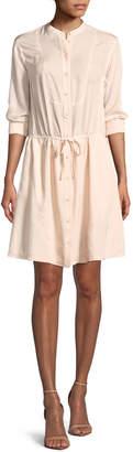 Jason Wu Grey Long-Sleeve Shirt Dress
