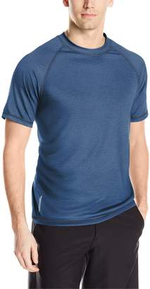 ZeroXposur Men's Island Solid Sun Protection Top/Swim Shirt