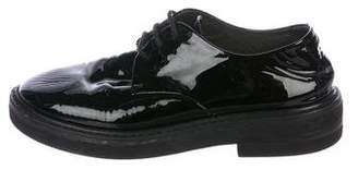 Marsèll Patent Leather Lace-Up Oxfords