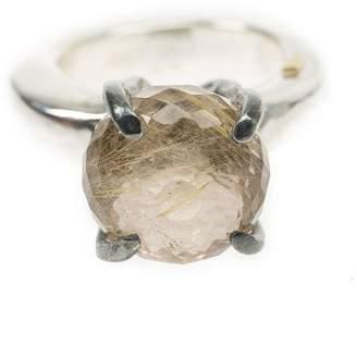 Rosa Maria quartz ring